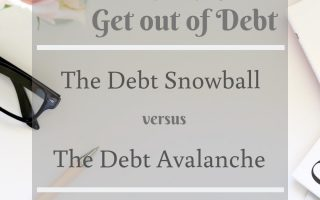 Debt snowball versus debt avalanche